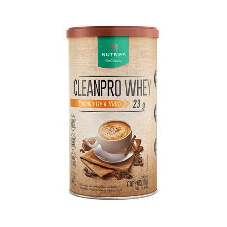 Imagem de Cleanpro Whey Cappuccino (450gr) - Nutrify