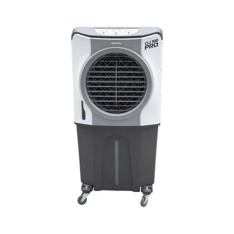 Imagem de Climatizador de ar evaporativo portátil 210 watts 100L 60m² - CLI100L PRO - Ventisol