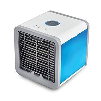 Imagem de Climatizador de Ar Resfria Umidifica Purifica Com LED 110V - Tomate MLF-001