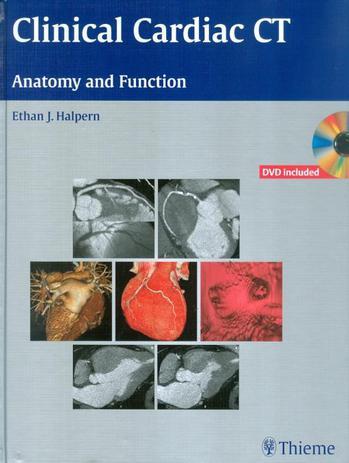 Imagem de Clinical cardiac ct anatomy and function (book  dvd rom)