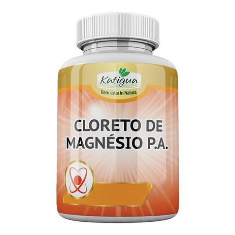 4ea6aafa1 Cloreto de Magnésio P.A. - 120 cápsulas - Katigua - - - Magazine Luiza