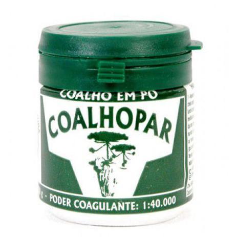 Imagem de Coalho Coalhopar Em Pó 1:40.000 Para Fabricação De Queijo 50g