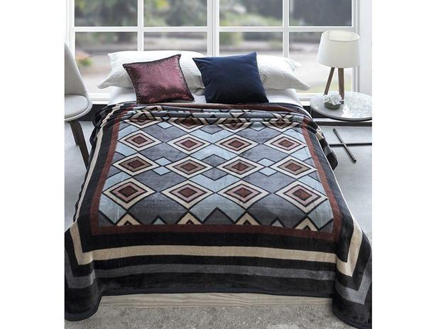 7212ab25dc Cobertor Casal Microfibra Dyuri Outono - 1 Peça - Cobertores e ...