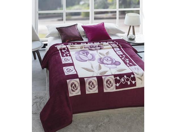60d6a576a6 Cobertor Casal Microfibra Dyuri Suavidades - 1 Peça - Cobertores e ...