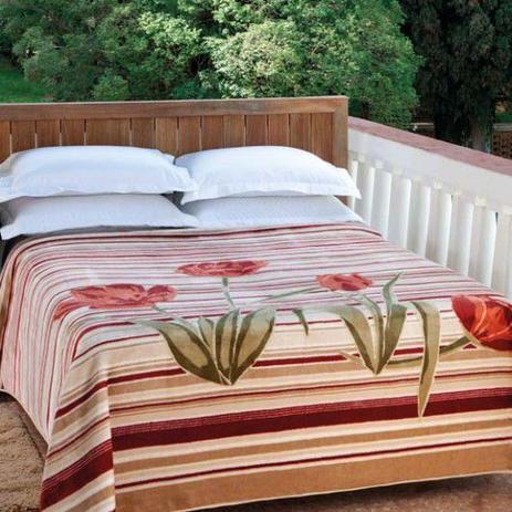 d5cf9045ac Cobertor Casal Raschel Casablanca 1