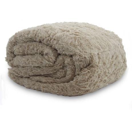 438728f9460 Cobertor King Dupla Face Sherpa - Domani - Cobertores e Mantas ...
