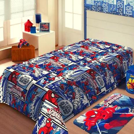 603e393723 Cobertor Manta Infantil Spider Man Jolitex 1
