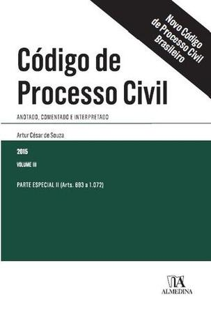 Imagem de Codigo de Processo Civil Brasileiro, V3