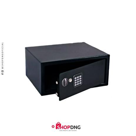 Imagem de Cofre Eletrônico Digital - Segurança e Resistência 43X35 Notebook Preto