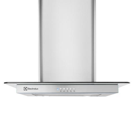 Imagem de Coifa de inox com campana em vidro (60CVS)