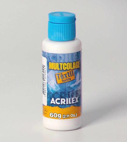 Imagem de Cola Decoupage Acrilex  Multcolage Textil 060 ml   18260