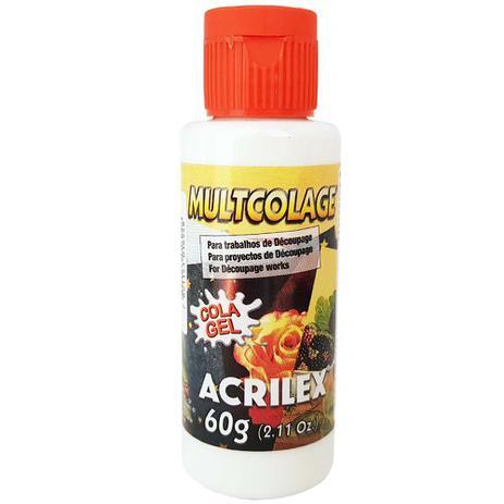 Imagem de Cola Multcolage Gel 60g Acrilex