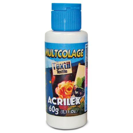 Imagem de Cola Multcolage Têxtil Acrilex 60 gr