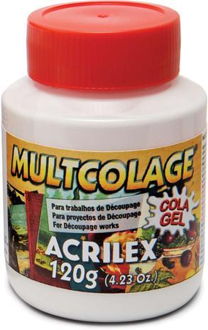 Imagem de Cola para Decoupage Multcolage 120ML. CX.C/06 Acrilex