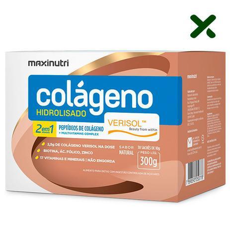 Imagem de Colágeno Hidrolisado 2 em 1 Verisol 30 sachês Sabor Natural Loja Maxinutri