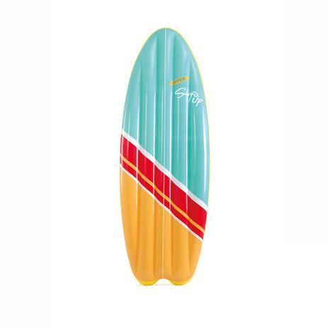 114bb6e60 Colchão Bronzeador Prancha de Surf Colorido - Intex - Boia Colchão ...
