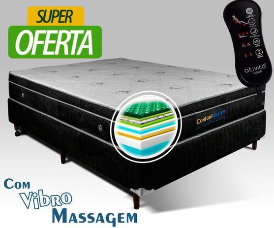 Imagem de Colchão Magnético Solteiro Confort Dream com Vibro Massageador