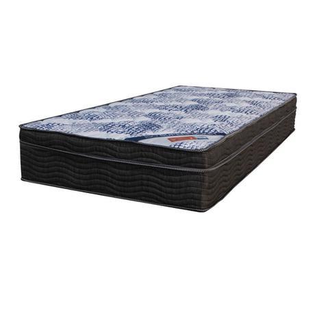 Menor preço em Colchão Solteiro Molas Ensacadas Super Iso (25x78x188) Preto - Ortobom