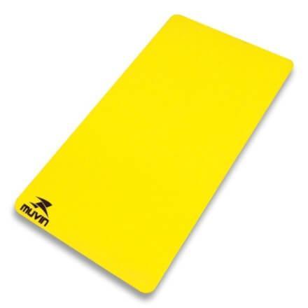 Imagem de Colchonete em EVA  CNF-100 100cm x 50cm x 1cm - Amarelo - M