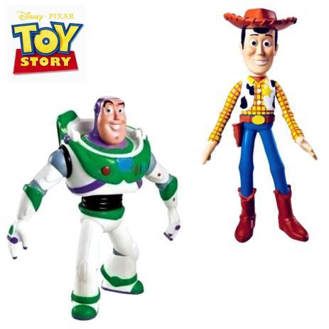 Imagem de Coleção Kit boneco Woody + Boneco Buzz Lughtdear VINIL