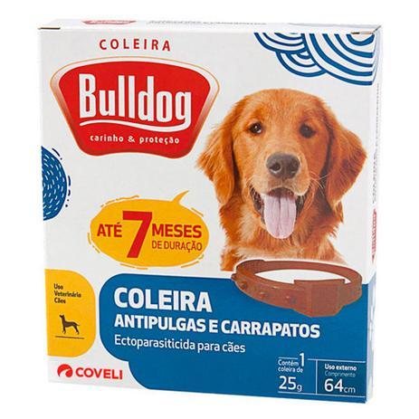 Imagem de Coleira Antipulgas E Carrapatos Bulldog 7 Meses De Proteção