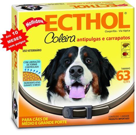 Imagem de Coleira Antipulgas E Carrapatos Hollyday Para Cães-10 meses