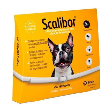 Imagem de Coleira Antipulgas Scalibor Cães Pequenos E Médios 48cm