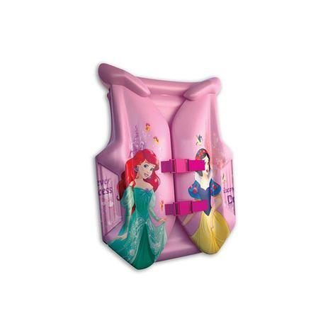 Colete inflável infantil princesas disney - Etitoys - Colete ... 86e7c43e0f3a5
