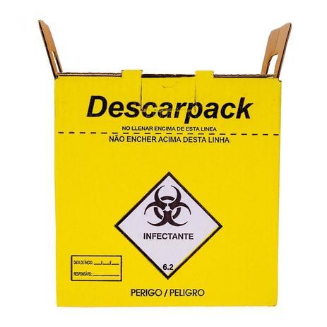 Imagem de Coletor de Material Perfurocortante - Descarpack 20L