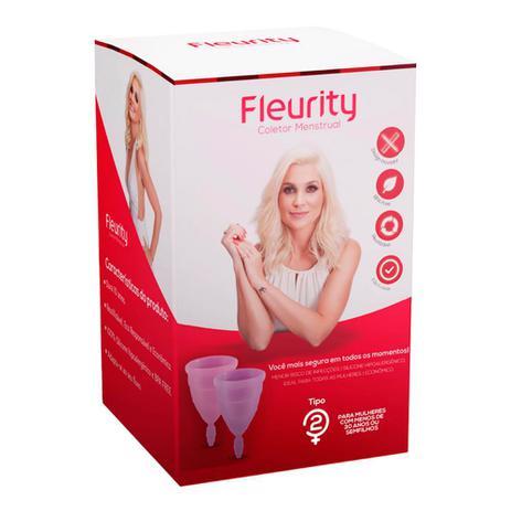 Imagem de Coletor Menstrual Fleurity Tipo 2 Interno 2 Unidades