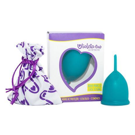 Imagem de Coletor Menstrual Violeta Cup - Verde Tipo B