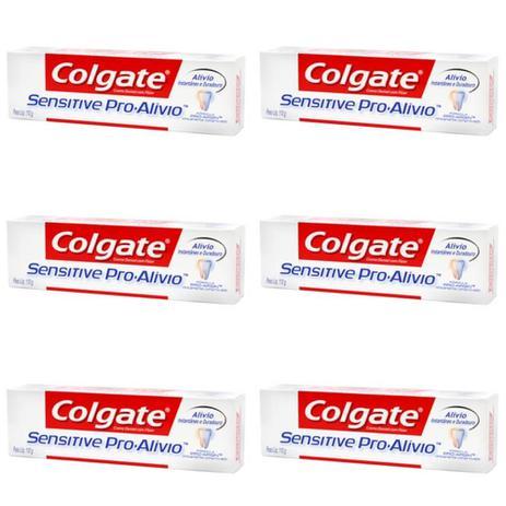 Colgate Sensitive Creme Dental Branqueador 110g Kit C 06 Higiene