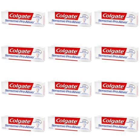 Colgate Sensitive Creme Dental Branqueador 110g Kit C 12 Creme