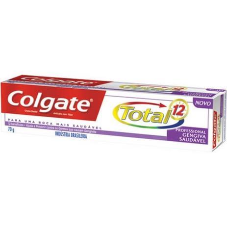Imagem de Colgate Total 12 Gengiva Saudável Creme Dental 70g