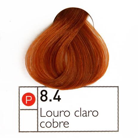 Coloração Instantly Collor Louro Claro Cobre 8.4 - Alpha Line