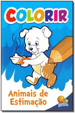 Colorir Animais De Estimacao Todolivro Livros De Literatura