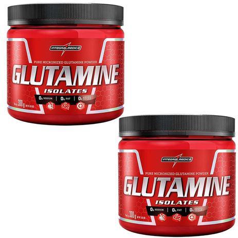 Imagem de Combo 2 Glutamina Powder Isolate - Natural 300g - Integralmédica