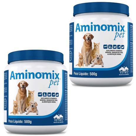 Imagem de Combo 2un Aminomix Pet 500g Cada