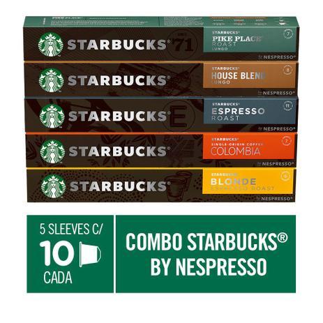 Imagem de Combo de Cafés Starbucks by Nespresso - 50 cápsulas
