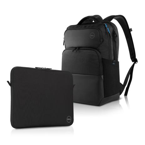 "b5b108eae Combo Mochila para Notebook Dell Pro 15,6"" + Capa Neoprene 15,6 ..."