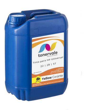 Imagem de Compatível Tinta para Cartucho HP 122 22 28 57 Impressora F4180 2510 1315 J3680 Corante Yellow de 20