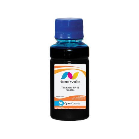 Imagem de Compatível Tinta para Cartucho HP 122 46 CZ-638AL Ciano - Impressoras HP 2529 4729 5738 Corante de 1