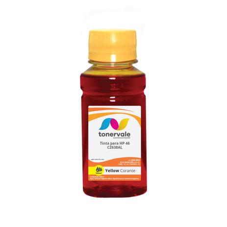 Imagem de Compatível Tinta para Cartucho HP 122 46 CZ-638AL Yellow - Impressoras HP 2529 4729 5738 Corante de