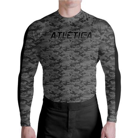 Imagem de Compressão Textura Black Graduation Atlética Esportes