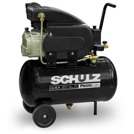 Imagem de Compressor De Ar 8,5 Pés Pratic Air Csi 8,5/25l Schulz