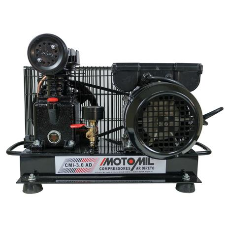 7cc29ee3b44f78 Compressor De Ar Direto 1hp Monofásico 110/220 Cmi-3.0/Ad Motomil ...