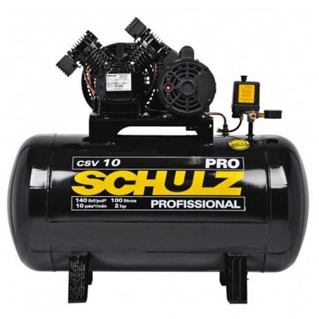 Imagem de Compressor De Ar - Pro CSV-10/100L - 2CV - Monofásico - Schulz