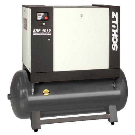 Imagem de Compressor de ar schulz parafuso srp 4015e 15cv trifasico 220/380/440v