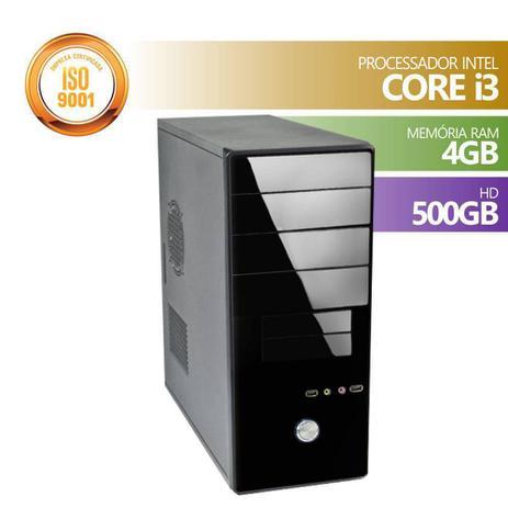 Imagem de Computador brazil pc core i3 memória 4gb hd 500gb