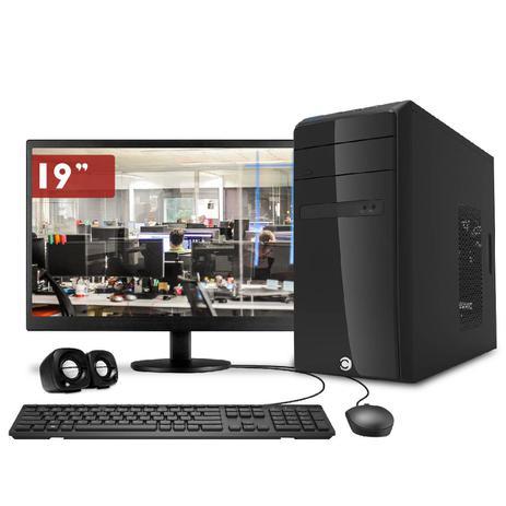 Imagem de Computador CorPC Intel Core I5 4GB DDR3, HD 500GB Monitor 19
